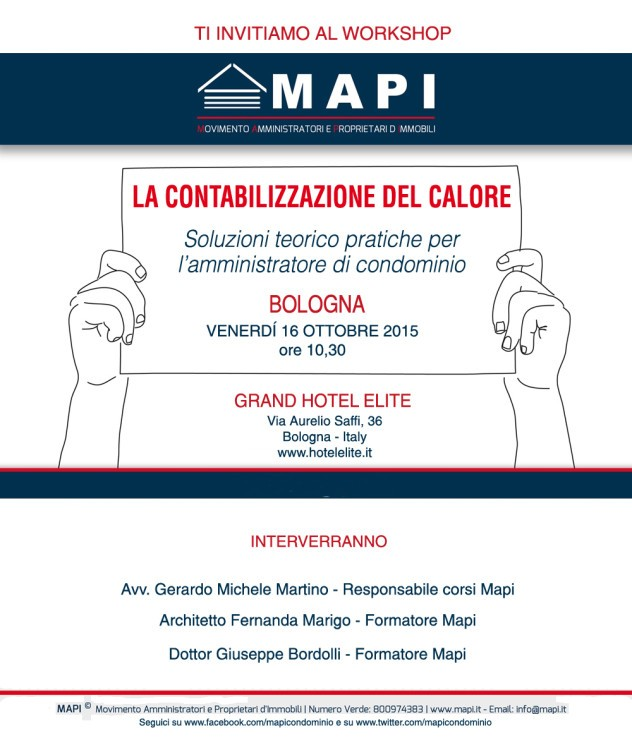 workshop Mapi Bologna