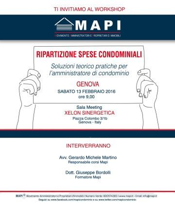 Workshop-Mapi-Genova