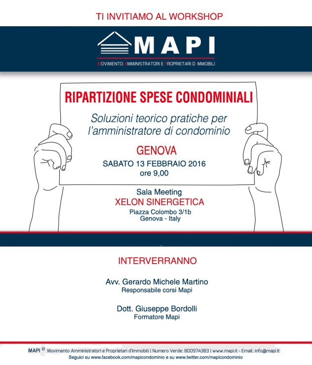 Workshop-Mapi-Genova