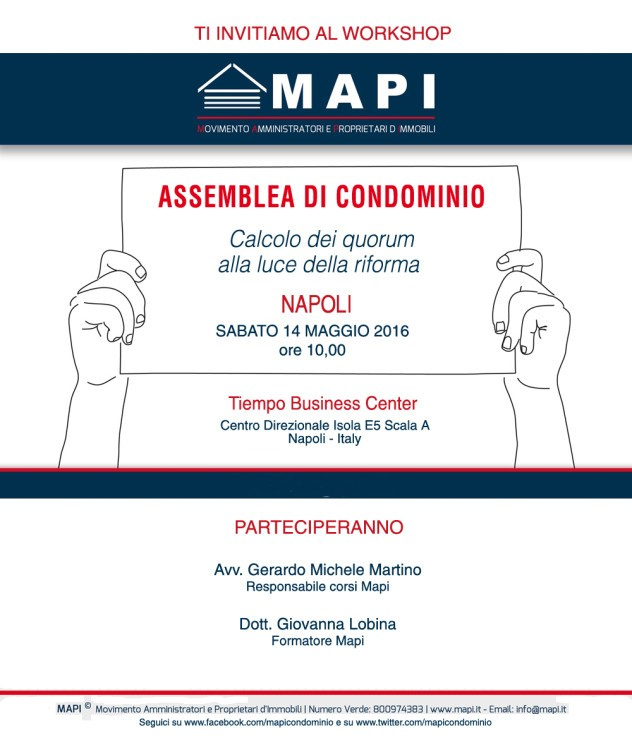 Workshop Mapi Napoli