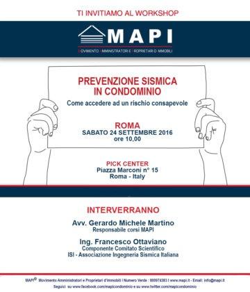 Workshop Mapi Roma
