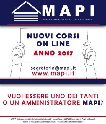 corsi on line mapi