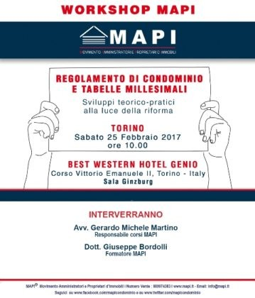 Workshop Mapi Torino
