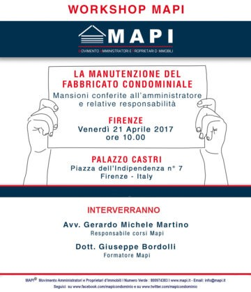 Workshop Mapi Firenze