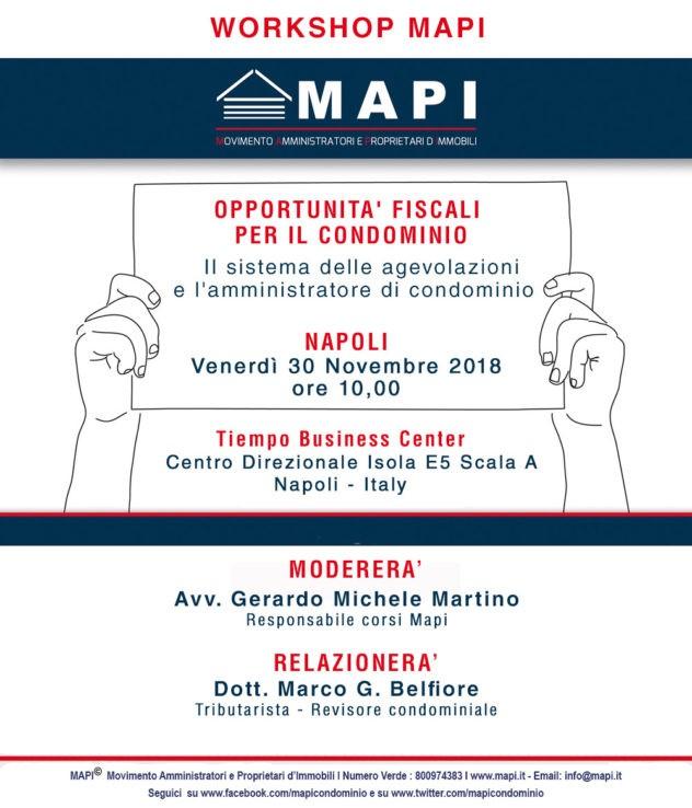 Workshop amministratori di condominio Napoli